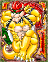 Sexy Bowser by Bowser2Queen