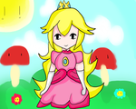 Princess Peach by The-Bish-Of-Hyrule