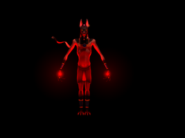 Anubis - High poly 2 by VampireSelene13