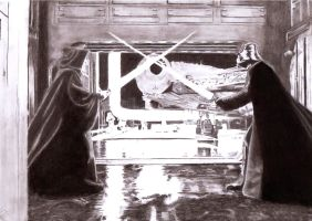 Death Star Duel by Slayerlane