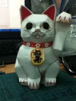 Fortune Cat by JayvPToy