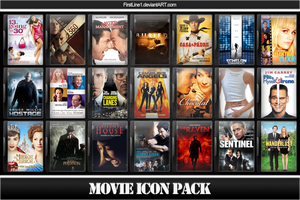 Movie Icon Pack 54 by FirstLine1