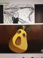 Windwaker fruit as the scream by toad403