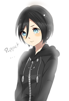 Xion the little puppet by Sammy-Shota-Prince