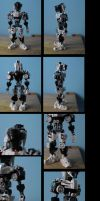 bionicle:kyrulus update (spirus armor) by CASETHEFACE