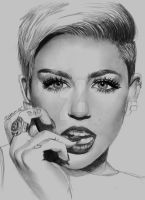 Miley Cyrus by BLNart18