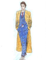 The Tenth Doctor by Mr-Saxon