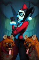 Suggestive Harley Quinn colors by danimation2001