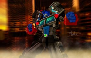 G2 LAser Optimus Prime by ConvoyKaiser