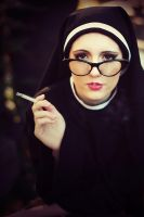 The Altar of Incense - nun by freemax