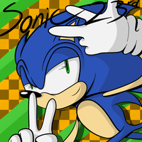 Sonic's 23rd Birthday by KCampbell499