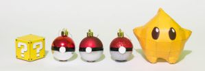 Christmas ornaments by Opheroth