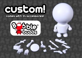 CUSTOM! Bobble Budds are coming! by StateOfTheArt-toys