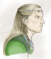 The Elf King Of Mirkwood by lubyelfears