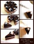Rich Chocolate Ice Cream Cake by ChocoAng3l