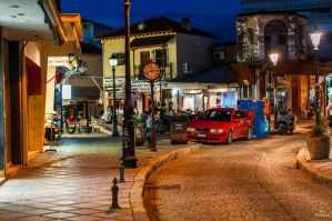 Ioannina evening by Rikitza