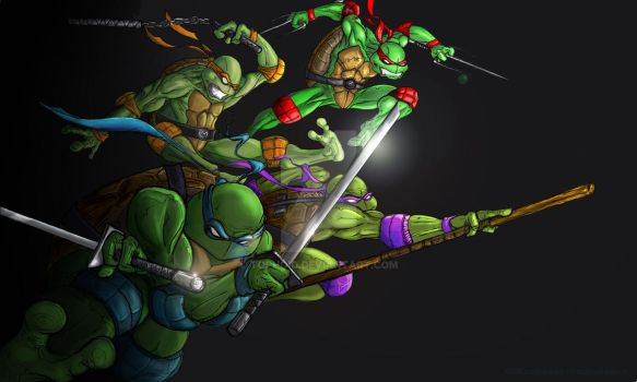 Turtles From Darkness 2011 by Tophoid