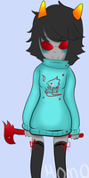 Sweaterstuck Terezi by Momoiroai