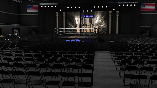 PHCW King of Wrestling Arena HD Concpet. 0003 by KingBearacuda185