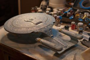 Enterprise d paint masking finished by Robby-Robert