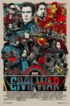 Captain America: Civil War Mondo Poster by Artlover67