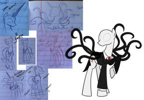 SketchDump: Slendermane by SketchyJackie