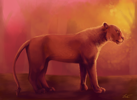 Lion Improved .. draw this again by SUNNYxAUTUMN