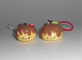Pudding Charm and Plushie Give Away by Love-Who