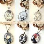 Handmade Manga Jewelry Preview Fall 2012 Black Tea by kyusai