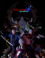 Devil may cry 4 Special edition by Taitiii