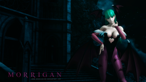 Morrigan Wallpaper by BriellaLove