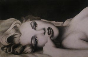 Marilyn Monroe by Christine-Dichmann