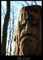 Face of god by Kheila