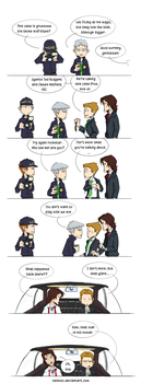 CrossOver SN NCIS by Saisoto