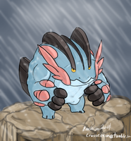 Mega Swampert by Rochejii