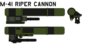 m-41 riper cannon by bagera3005