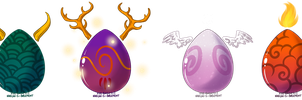 Mystery Eggs Auction - OPEN by Karijn-s-Basement