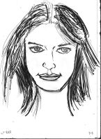 Woman Face study n82 by lv888