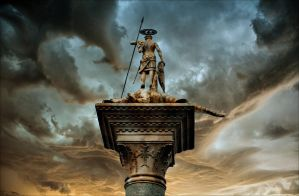 The Ghost Of St. Mark's Square by orpheas