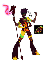 Gem Fusion- Fire Agate by XombieJunky