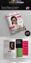 24 Pages Business Magazine Template by idesignstudio