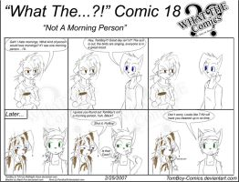 """What The"" Comic 18 by TomBoy-Comics"