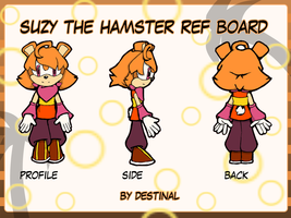 Suzy the Hamster REF Board by destinal