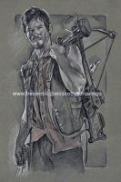 The Walking Dead - Daryl Dixon (2013) WIP by scotty309