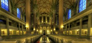 Nikolai Church Leipzig by xMAXIx