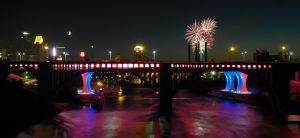 Minneapolis Fireworks by Austron