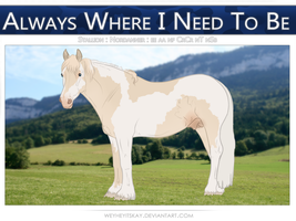 5935 BR Always Where I Need To Be by bedfordblack