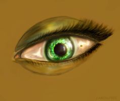 Green eye by Jameslfree