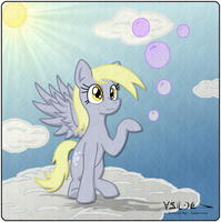 2012-01-24-Derpy Hooves, Remade FIN by Valorcrow