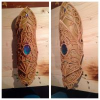 Dragon Elf Bracer by cyehra